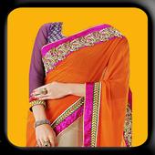 Women Saree Photo Montage icon