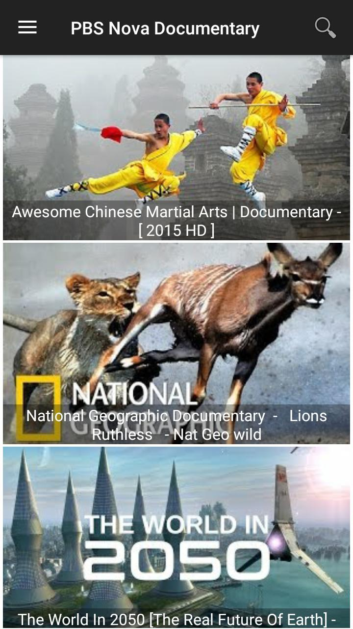 Discovery Channel for Android - APK Download