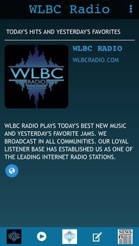 WLBC Radio poster