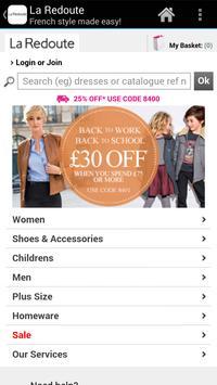 Shop La Redoute UK poster