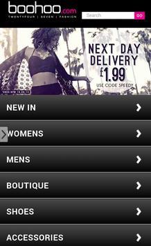 Shop boohoo apk screenshot