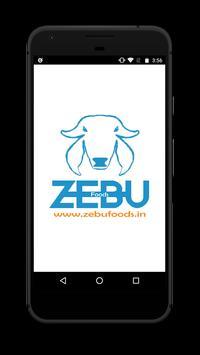 Zebu foods poster