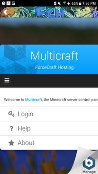 ForceCraft Hosting Servers screenshot 1