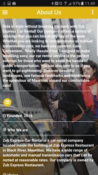 Zub Express Car Rent apk screenshot