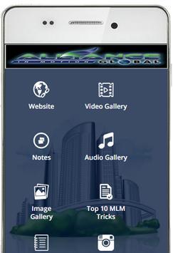 AIM Global MLM Training App poster