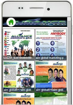 AIM Global MLM Training App screenshot 2