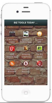 BizToolsToday Mobile Apps poster
