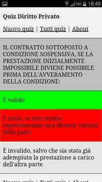 Quiz Diritto Privato poster