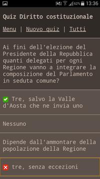 Quiz Diritto 2016 apk screenshot