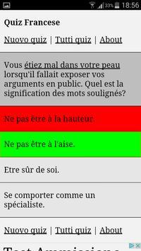 Quiz Francese apk screenshot
