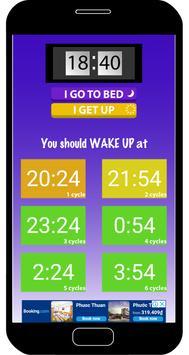 Sleep Calculator: Perfect Sleep Time screenshot 2