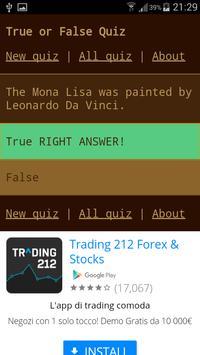 True or False Quiz apk screenshot