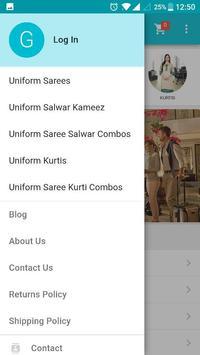 Uniform Sarees apk screenshot