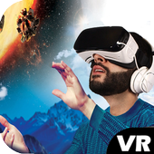 VR Videos Youtube 3D icon