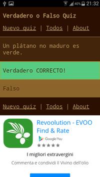 Verdadero o Falso Quiz screenshot 2