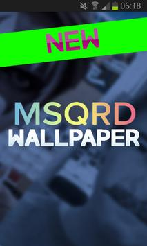 MSQRD Wallpaper poster