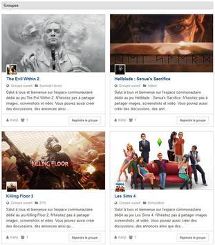 Actugame le réseau social des gamers poster