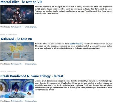 Actugame le réseau social des gamers apk screenshot