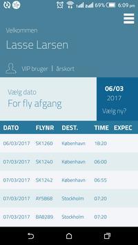 Aarhus Lufthavn VIP App apk screenshot
