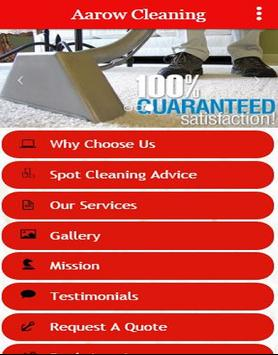 Aarow Carpet Cleaning poster