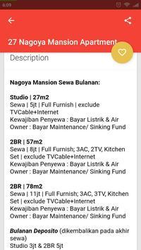 Sewa Rental Apartment Batam screenshot 5