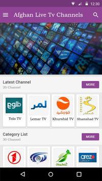 Afghan Live Tv screenshot 1