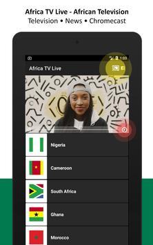 Africa TV Live - African Television apk screenshot