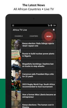 Africa TV Live - African Television apk screenshot