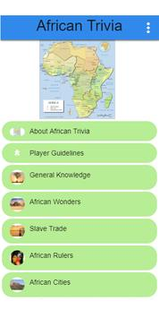 African Trivia screenshot 1