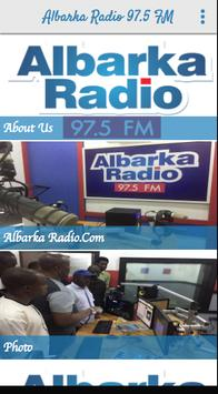 Albarka Radio 97.5 FM poster