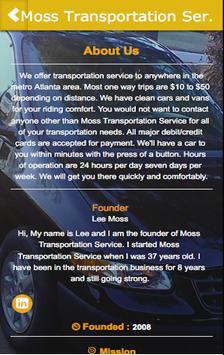 Moss Transportation Ser. screenshot 3