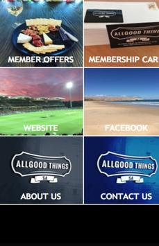 Allgood Things SA poster