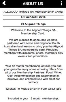 Allgood Things SA screenshot 1
