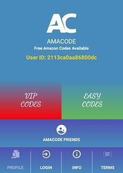 Free Amazon Gift Code-Amacode poster