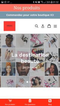 Andjou Cosmetics poster