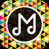 音楽が無料で聴き放題!!  Music Note icon