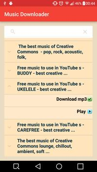 Pentagram Music Downloader apk screenshot