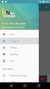 Tv En Vivo Ecuador apk screenshot