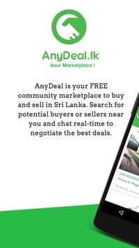 AnyDeal: Your Marketplace to Buy and Sell. poster