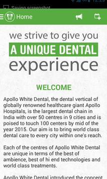 Apollo White Dental poster