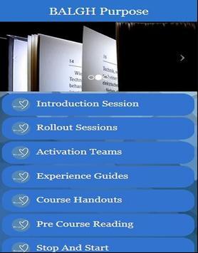 BALGH Purpose apk screenshot