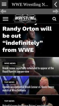 Wrestling News screenshot 1
