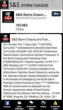 S&S Storm Chasers poster