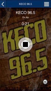 KECO 96.5 poster