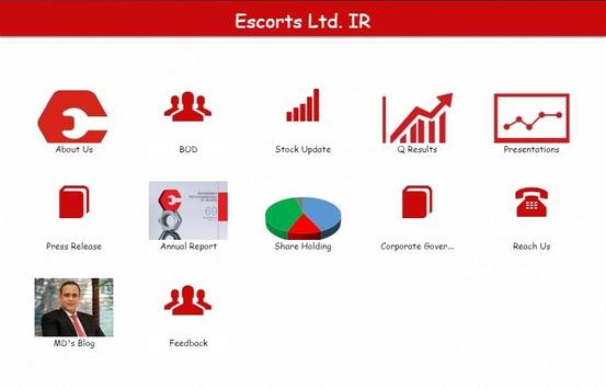 Escorts Ltd Investor Relations for Android - APK Download
