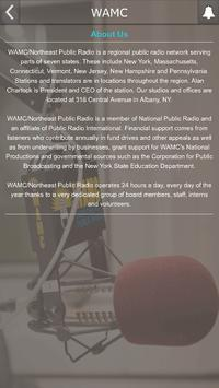 WAMC poster