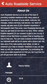 Auto Roadside Service apk screenshot