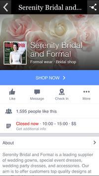 Serenity Bridal and Formal screenshot 1