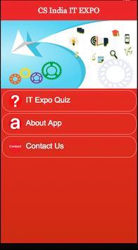 CS India IT EXPO poster