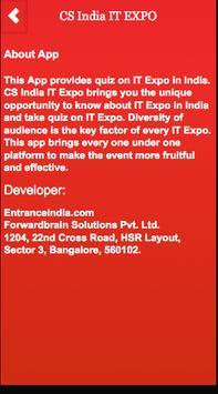 CS India IT EXPO apk screenshot